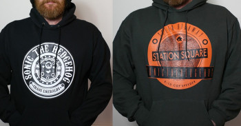 "Neue Sonic Hoodies - ""Station Square"" und ""Chaos Emeralds"""