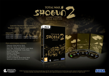 Inhalt der Total War: Shogun 2 Gold Edition