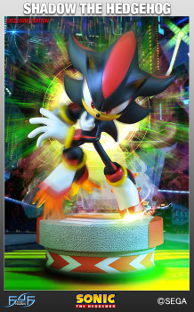 Shadow the Hedgehog - Exclusive Statue