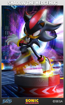 Shadow the Hedgehog - Standard Statue