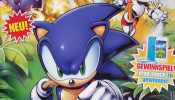 Deutscher Sonic Comic - Ausgabe 2 Cover