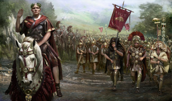 Total War 2 Caesar in Gallien Artwork