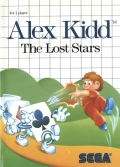 Alex Kidd: The Lost Stars Cover