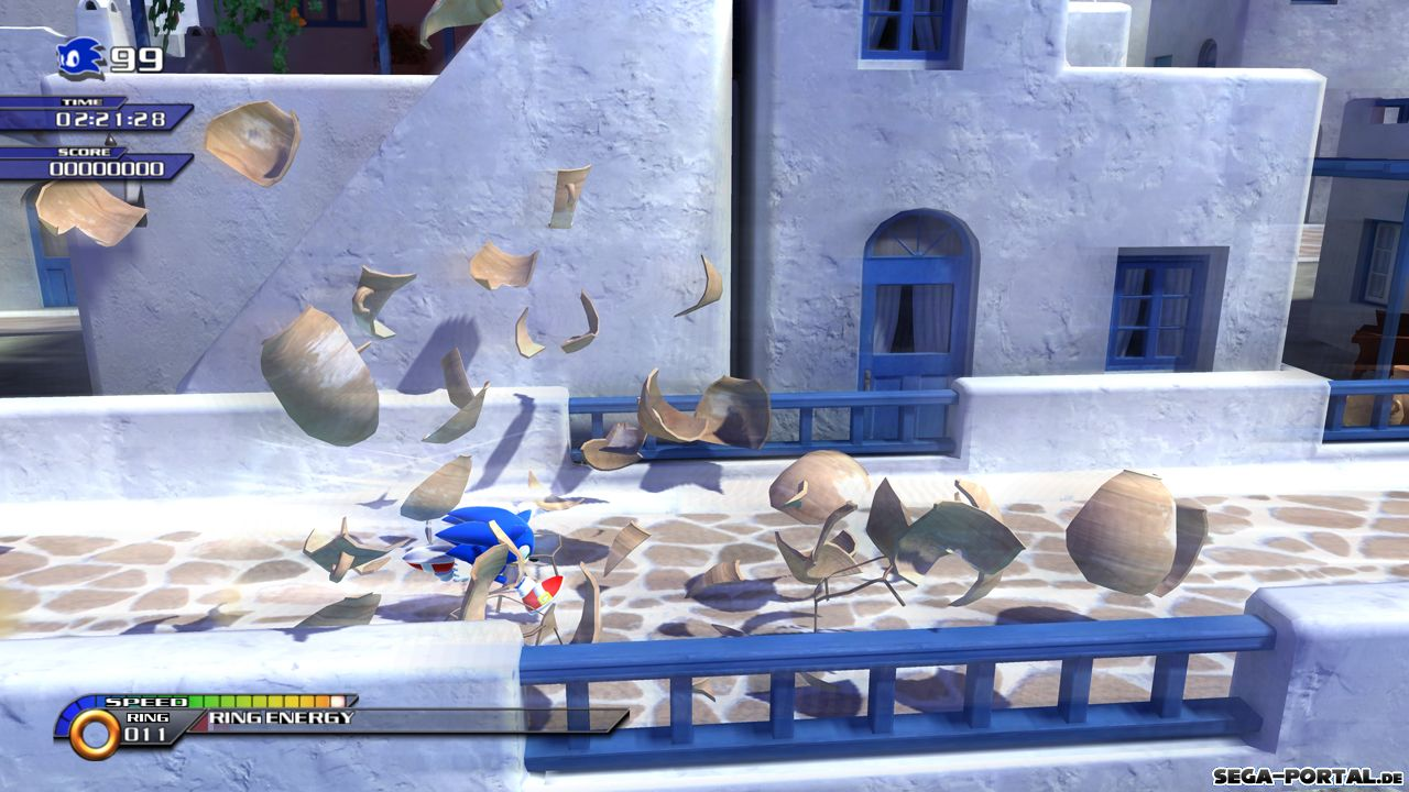 Sonic Unleashed Xbox 360 Playstation 3 Nintendo Wii Screenshot Image